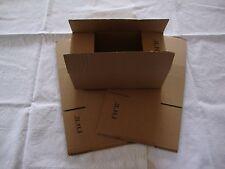 3 Brown Corrugated Shipping Box 8x4x3 Sunglasses Cardboard Carton Packing Mailer
