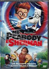Dvd DreamWorks «MR. PEABODY E SHERMAN» nuovo 2014