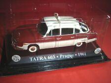 1/43 Tatra 603 Taxi Prague Czechoslovakia 1961 WORLD TAXI Die Cast