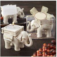 Hochzeit festliche Urlaub Kerze Keramik weißer Elefant Ornamente n li