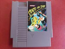 SKATE OR DIE NES Nintendo Game - Oz seller