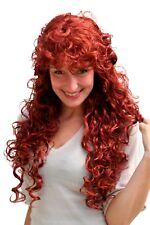 Perruque pour Femmes Rouge Long Bouclés Cheveu avec Boucles Env. 65 cm 9229-350
