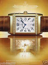 Publicité advertising 2007 La Montre Reverso Duetto Duo Jaeger LeCoultre