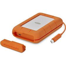 LaCie STFS5000800 Rugged Thunderbolt USB-C 5TB Portable Hard Drive