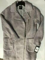 Jones New York women's SZ Small Wool Blend coat JW8MW833 Gray overcoat