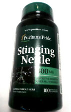 Stinging Nettles 300mg Leaf Pills Natural Whole Herb 100 Capsules