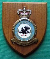 Old RAF Royal Air Force 24 Squadron Crest Shield Plaque Brize Norton Berlin