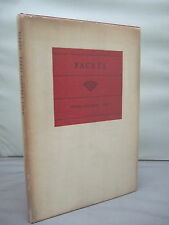 Facets by Ethel Godrey Loud HB DJ 1946 - Signed - Poetry