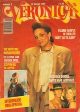VERONICA 1987 nr. 02 - VALERIE HARPER/CHRISSIE HYNDE/WENDY RICHARD/AMANDA SPOEL