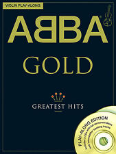 ABBA GOLD for VIOLIN MAMMA MIA Playalong Music Book CD SONGS LEARN WATERLOO HITS
