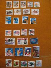 American Stamps 29 USA Stamps United States of America Stamp Collection Starter