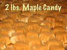 FREE SHIPPING 2 lbs. CANDY Pure Vermont Maple Sugar Candy Perfect
