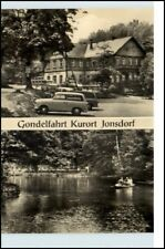 JONSDORF Sachsen DDR Auto Trabi Gondelfahrt Ruderboot