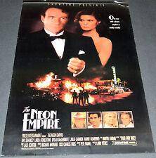 THE NEON EMPIRE 1989 ORIGINAL 27x41 POSTER! SHOWTIME TV MOVIE! RAY SHARKEY CRIME