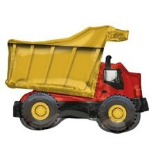 Construction Party Supplies Dump Truck Supershape Balloon Birthday  Decoration
