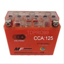 YT12B-4 YT12B-BS 12V 10AH Battery for Yamaha 650CC XVS650 V-Star 1998-2011