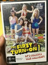 The First Turn On brand NEW & sealed region 4 DVD (1983 Troma comedy film) RARE