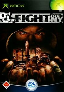 Microsoft Xbox game Def Jam: Fight for NY boxed