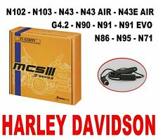 N-COM NOLAN  BASIC KIT MCS III S x N102 N103 G4.2 N90 N43  HARLEY DAVIDSON CNC11