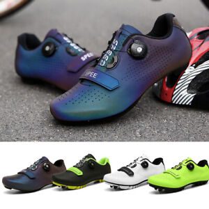 Men's  Outdoor Cycling Shoes Athletic Racing Road Sneakers Comfort
