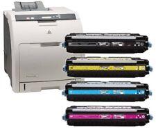 HP Colour LaserJet 3600 3800 CP3505 HP Genuine Complete Part Used Toner Set