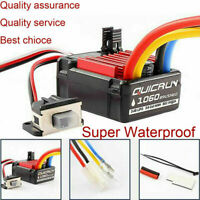 Hobbywing QuicRun 1060 60A Brushed ESC Electronic Speed Controller RC Car Part