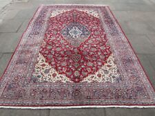 Vintage Hand Made Traditional Oriental Wool Red Large Rug Carpet 297x207cm