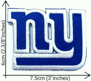 New York Giants NY Blue NFL Football Sport Patches Logo Iron,Sew on Fabric