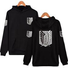 Shingeki no Kyojin Attack On Titan Wings Hoodie Pullover SweatShirt Cosplay Coat