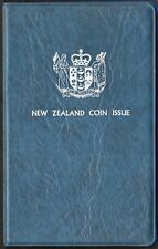 NEW ZEALAND 1979 UNCIRCULATED SEVEN PC. SET IN ORIGINAL MINT FOLDER (KM# MS25)
