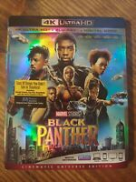 Black Panther (4K UHD Blu-ray Disc + Blu-ray Disc, 2018) No Digital Code