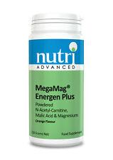 MegaMag Energen Plus Orange -210g Powder by Nutri Advanced -Vegan Multi Nutrient