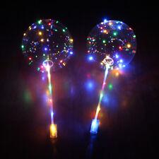 IK- 18'' LED Light Balloons Clear Balloon Wedding Birthday Party Light Decor Hea