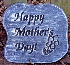 """plastic mold plaster concrete Mom Mother's Day mould 9"""" x 8"""" x .75"""" thick"""