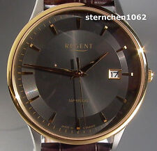 Regent * Stahl bicolor * Ref. 11120117 * Quarz * Made in Germany * Herren