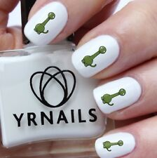 Nail WRAPS Nail Art Water Transfers Decals - Colour Dinosaur - S474