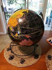 VINTAGE CRAM'S UNIVERSAL TERRESTRIAL GLOBE 12″