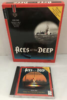 Aces Of The Deep 1994 PC Game Vintage Gaming Sierra On-Line Dynamix Submarine