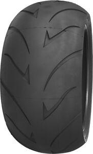 SHINKO 011 VERGE RADIAL 300/35R18 Rear Radial BW Motorcycle Tire 78V 300/35-18