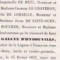 Charles Eugène De Gallye D'Hybouville 1857 Vénerie