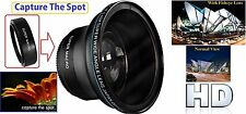 Professional HD MK III Fisheye Lens for Panasonic Lumix 14-140mm Lens