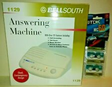 Bellsouth #1129 Answering Machine 20+ Features Sleek Contemporary Design + Xtras