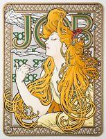 Alphonse Mucha JOB Fine Art Limited Edition Embossed Lithograph COA S2 Art