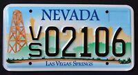 "NEVADA "" LAS VEGAS SPRINGS LV STRIP CABIN "" NV Specialty Graphic License Plate"