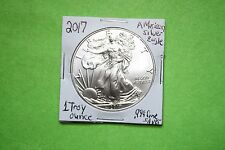 2017 AMERICAN SILVER EAGLE UNC.1 TROY OZ..999 FINE SILVER.LOWEST PRICE TO DATE!