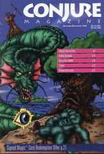 CONJURE MAGAZINE NOV/DEC 1994 NM! FANTASY RPG