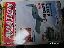 ¤¤ Aviation design magazine n°22 Tragedie Columbia Dossier Drones Cirrus SR22