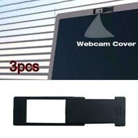 3Pcs WebCam Cover Shutter Magnet Slider Plastic Universal Covers Camera W6C3