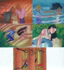 Pocahontas Disney Movie Dufex Chase Card Set 5 Cards
