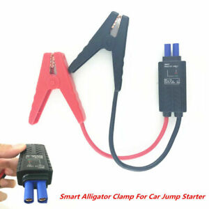 Car Jump Starter Connector Emergency Lead Cable Battery Booster Alligator Clamp